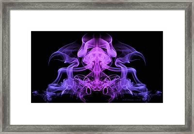 Meditation Framed Print by WB Johnston