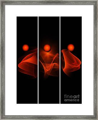Meditations Framed Print