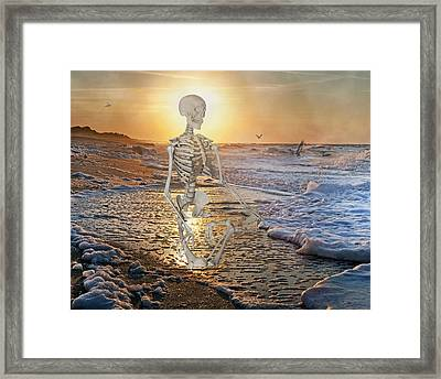 Meditative Morning Framed Print