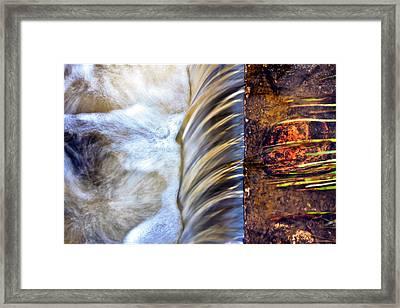 Zen Weir Framed Print