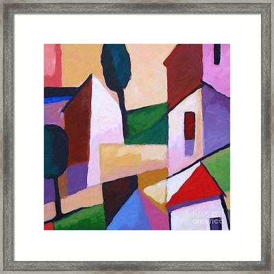 Mediterra Framed Print