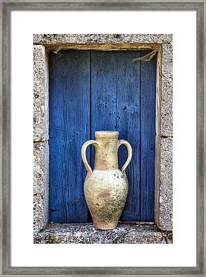 Mediterranean Colors Framed Print