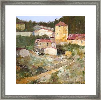 Mediterranean Farm Framed Print