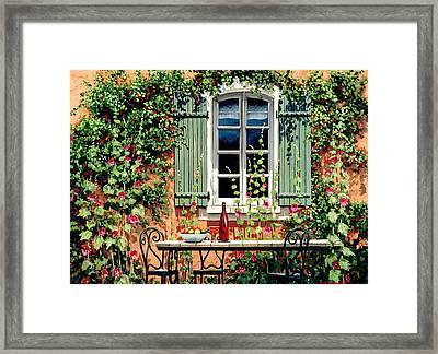 Mediterranean Memories - Oil Framed Print