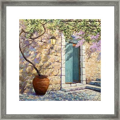 Mediterranean Scent Framed Print