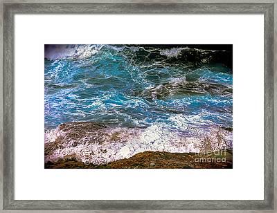 Mediterranean Sea Framed Print