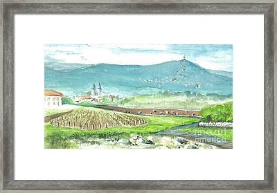 Medjugorje Fields Framed Print
