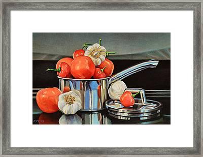 Medley Framed Print by Kenneth Cobb