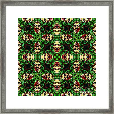 Medusa Abstract 20130131p0 Framed Print by Wingsdomain Art and Photography