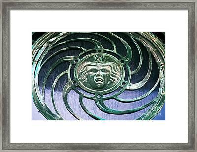 Medusa At Asbury Park  Framed Print by John Rizzuto