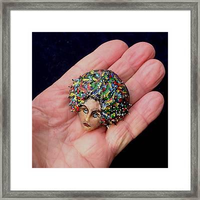 Medusa Cameo I Framed Print