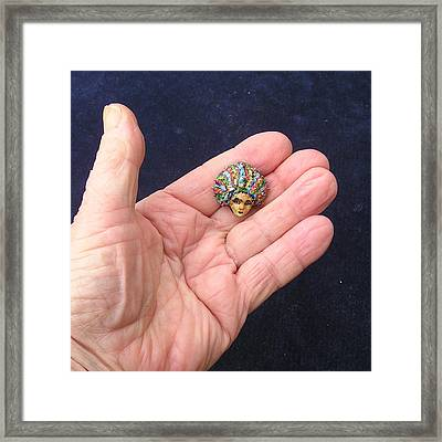 Medusa Cameo I I I Framed Print