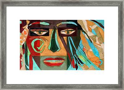 Medusa Framed Print by Diane Fine