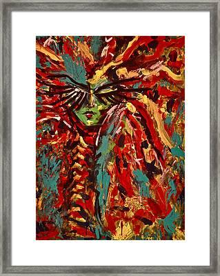 Medusa Framed Print by Jennifer Anne Harper