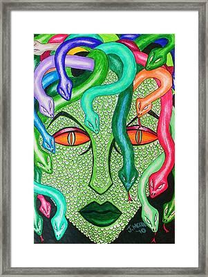 Medusa Framed Print by Jeremy Moore