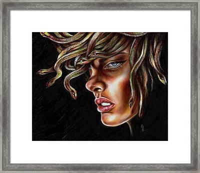 Medusa No. One Framed Print by Hiroko Sakai