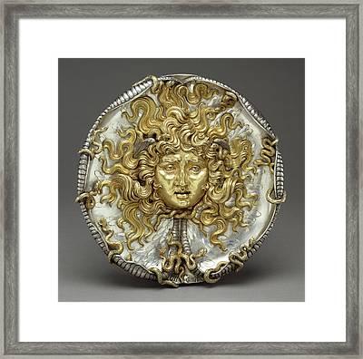 Medusa Vincenzo Gemito, Italian, 1852 - 1929 Naples Framed Print by Litz Collection