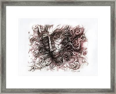 Medusa Framed Print by Vladimir Petrov