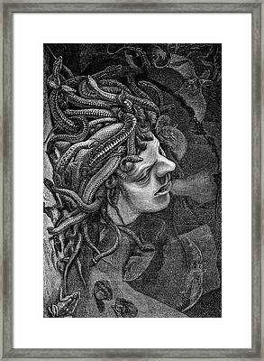 Medusa's Head Framed Print by Collection Abecasis