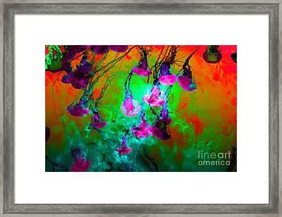 Medusas On Fire 5d24939 P128 Framed Print by Wingsdomain Art and Photography