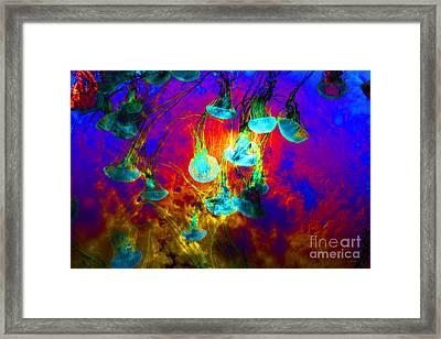 Medusas On Fire 5d24939 Framed Print by Wingsdomain Art and Photography