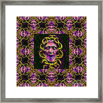 Medusa's Window 20130131m138 Framed Print by Wingsdomain Art and Photography