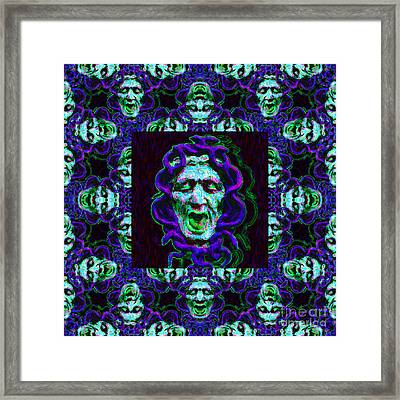 Medusa's Window 20130131p138 Framed Print by Wingsdomain Art and Photography