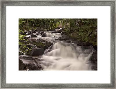 Meech Creek Waterfalls Framed Print