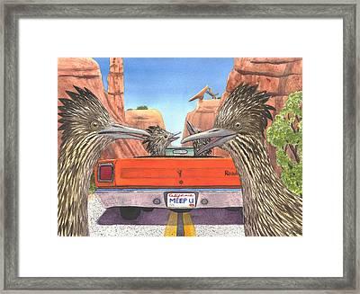 Meep Them Framed Print by Catherine G McElroy