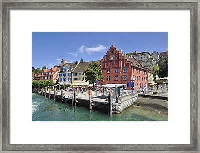 Meersburg Lake Constance Germany Framed Print by Matthias Hauser