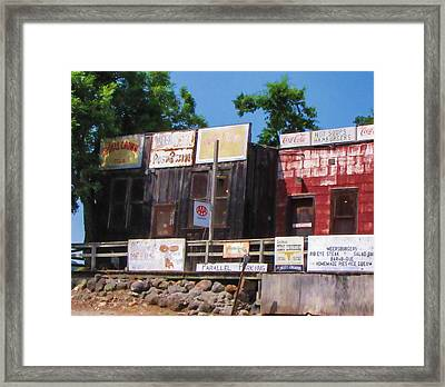 Meersburgers Framed Print by Tony Grider