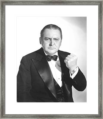 Meet John Doe, Edward Arnold, 1941 Framed Print by Everett