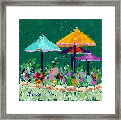Meet Me At The Cafe Framed Print