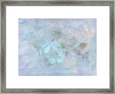 Meet Me In Petals Framed Print