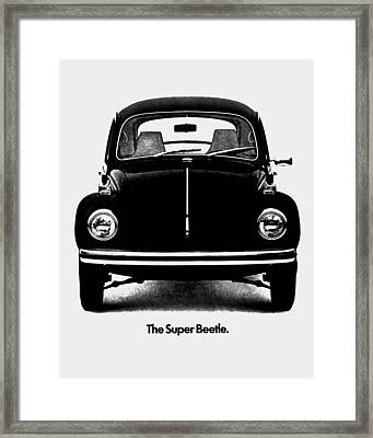 Meet The Super Beetle Framed Print by Benjamin Yeager