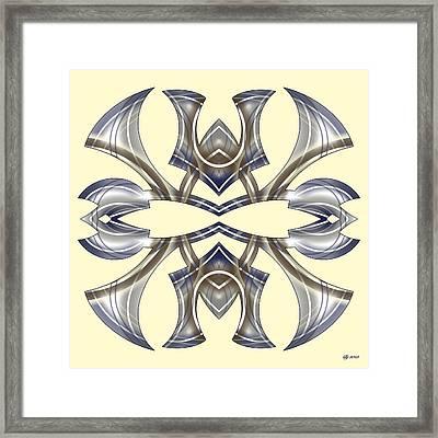 Meeting 22 Framed Print by Brian Johnson