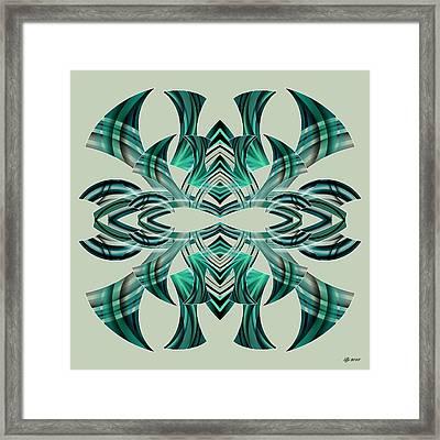 Meeting 5 Framed Print by Brian Johnson