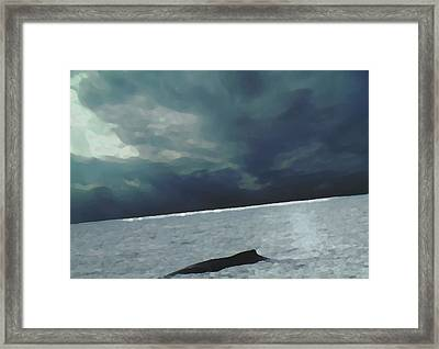 Meeting At The Horizon Framed Print by Marcello Cicchini