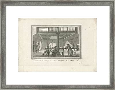 Meeting Of Quakers Framed Print by Quint Lox