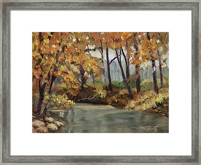 Meeting Of The Waters Framed Print by Tommy Thompson