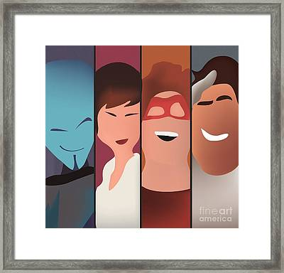 Megamind Framed Print