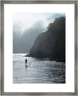 Megan At Catalina  Framed Print by Randy Sprout