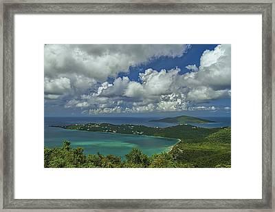 Megan's Bay Framed Print