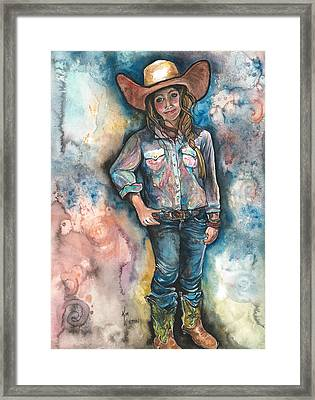 Little Britches Framed Print