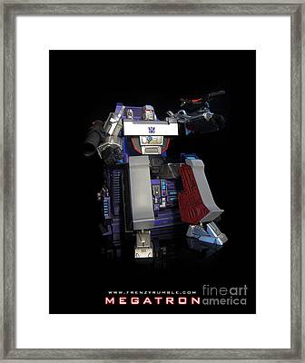 Megatron - G1 Framed Print