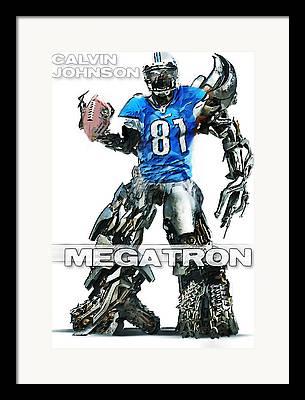 Megatron Framed Prints
