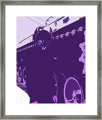 Megatron Framed Print by Prime Altemus