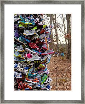 Meg's Miles Framed Print