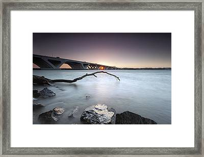 meh I was up anyway so why not Framed Print