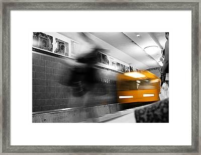 Mehringdamm Framed Print